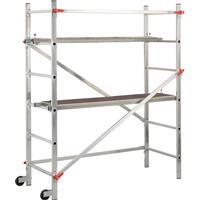 Hailo stillads 1-2-3 300 180 cm aluminium 9459-301