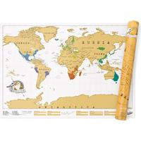 Ohlsson och Lohaven Scratch Map - Liten