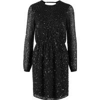 Y.A.S Sequin Party Dress Black/Black (26008970)