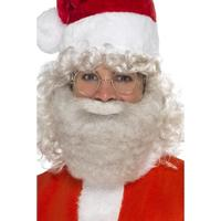 Smiffys Deluxe Santa Beard Pearl