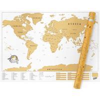 Ohlsson och Lohaven Scratch Map - Stor