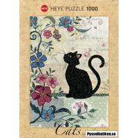 Heye: Jane Crowther - Cats, Cat & Mouse (1000)