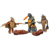 Godzilla - Diamond Select Toys: Godzilla Classic Minimates Series 3 Box Set (5 figurer på 5 cm)