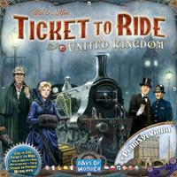 Days of Wonder Ticket to Ride: United Kingdom & Pennsylvania Resespel