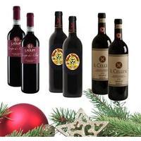 Julekasse Luxus - 6 rødvine