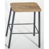 Frama - Adam skammel/barstol (højde 50 cm) - grå