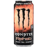 Monster Energy Rehab Peach 473ml
