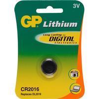 GP Batteri Lithium CR 2016