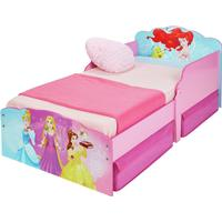 Worlds Apart Disney New Princess Toddler Bed with Drawer