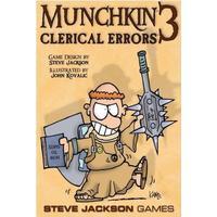 Steve Jackson Games Munchkin 3: Clerical Errors (Engelska)