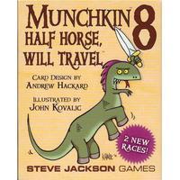 Steve Jackson Games Munchkin 8: Half Horse, Will Travel (Engelska)