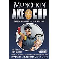 Steve Jackson Games Munchkin: Axe Cop (Engelska)