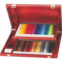 Stabilo -CarbOthello Farveblyanter - Træ æske med 12 farver