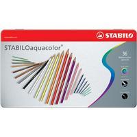 Stabilo -CarbOthello Farveblyanter - Metalæske med 36 farver