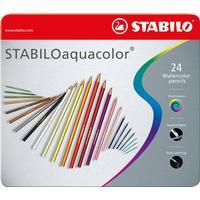 Stabilo -CarbOthello Farveblyanter - Metalæske med 12 farver