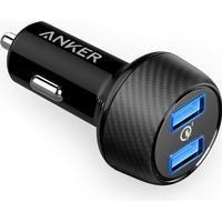 Anker PowerDrive Speed 2 x Quick Charge 3.0 udgange, Sort