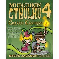 Steve Jackson Games Munchkin Cthulhu 4: Crazed Caverns (Engelska)