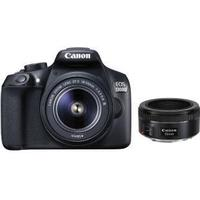 Canon EOS 1300D + 18-55mm lll + 50mm STM