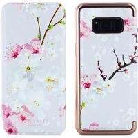 Ted Baker SS17 BROOK Mirror Folio Case for Samsung Galaxy S8 - Oriental Blossom