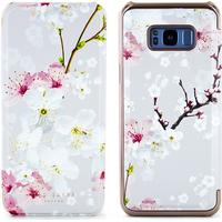 Ted Baker SS17 AMMEE Mirror Folio Case for Samsung Galaxy S8+ - Oriental Blossom