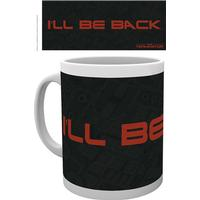 Mug - Movies - The Terminator I´ll Be Back Text - Merchandise