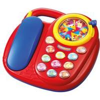 Baby Buddy telefon med lyde Drejeskive med kugler, musik, ringe- og dyrelyde