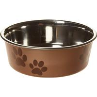 Trixie Stainless Steel Bowl With Plastic Coating 0.3l