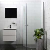Bathlife Mångsidig Rund Duschhörna 1000x900mm