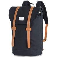 Sandqvist Stig Canvas Backpack Blue