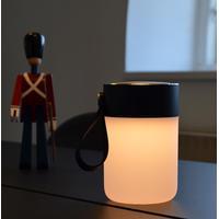 Halo Design Colors Jar trådlös högtalare med lampa svart