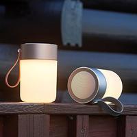 Halo Design Colors Jar trådlös högtalare guld med lampa