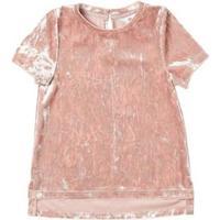 Burton Velvet Top - Pink (69T05APNK)