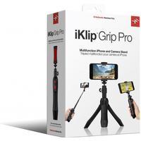 IK Multimedia - iKlip Grip Pro - Multifunctional iPhone & Camera Stand