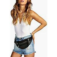 boohoo Amy Basic Zip Detail Bum Bag