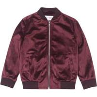 Burton Bomber Jacket - Red (55C01ABUR)