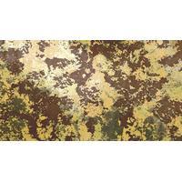 Vax plattor - 17.5 x 8 cm - marmor - brun - guld- 1 st