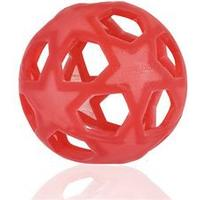 Hevea legetøj Star ball rød