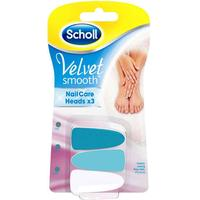 Velvet Smooth Nail Care Refill Pink 3-pack