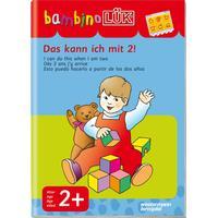 WESTERMANN Bambino Das kann ich mit 2! børnebog, bog til indlæring skolebog