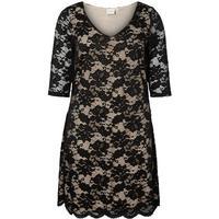Junarose Lace Dress Black/Black Beauty
