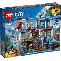 Lego City Bjergpolitiets Hovedkvarter 60174