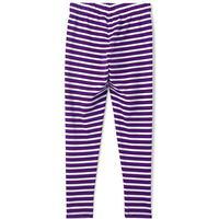 Lands  End Lands End Patterned Ankle Length Leggings - Purple (443085)