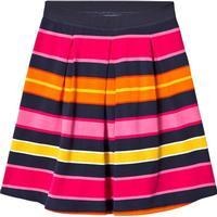 Lands  End Lands End Ponte Jersey Skirt - Pink Multi Stripe (486869)