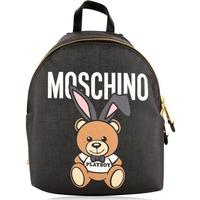 MOSCHINO Playboy Teddy Backpack - Black 1555 - One Size