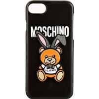 MOSCHINO Iphone 7 Teddy Case - Black 1555 - One Size