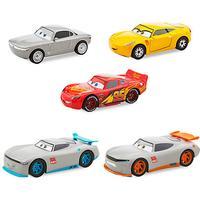 Disney pixar cars bilar 3 metall race rookie set 5-pack 1:43