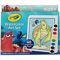 OPENBOX Set de Pinturas Acuarela Crayola 04-6892-E-000 Dory (48 pcs)