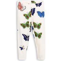 Mini Rodini Butterflies Leggings - Offwhite (1773011311)