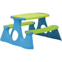 Starplay Børne bordbænkesæt plast grøn/blå