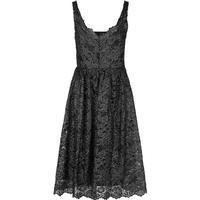 Y.A.S Silver Lace Party Dress Black/Black